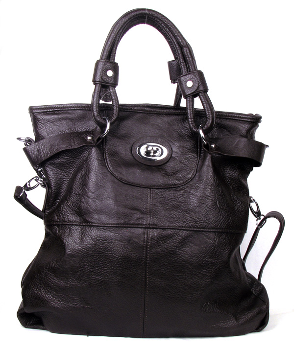 Coffee Large Fashion Handbag