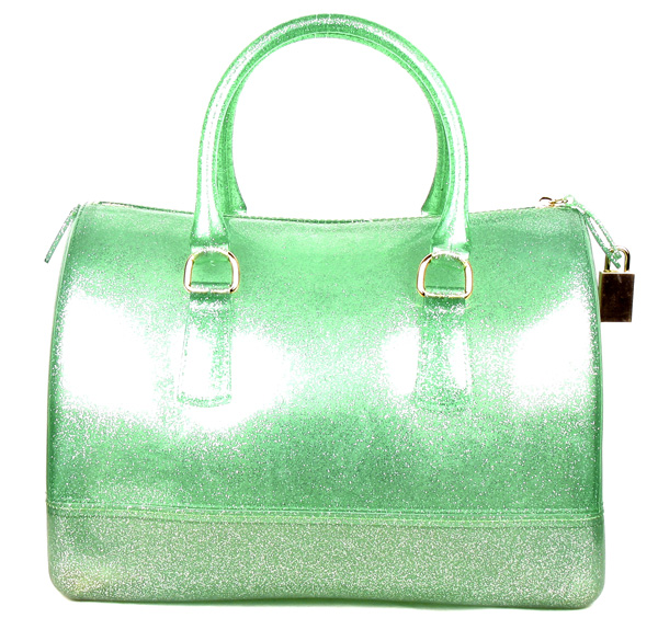 Jelly Candy Green Semi-transparent Fashion Handbag
