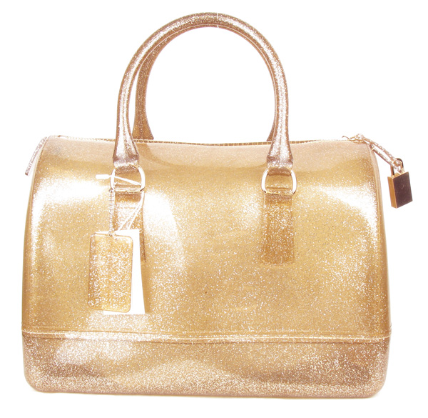 Jelly Candy Light Brown Semi-transparent Fashion Handbag