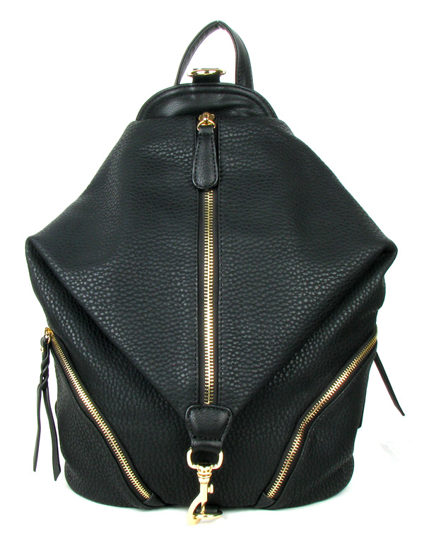 Backpack Black Fashion Handbag