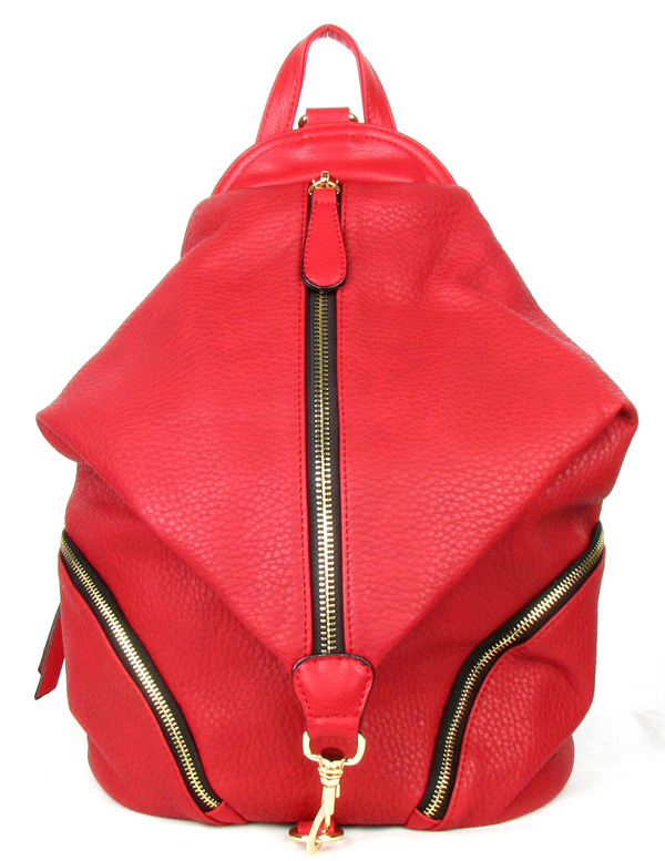 Backpack Red Fashion Handbag