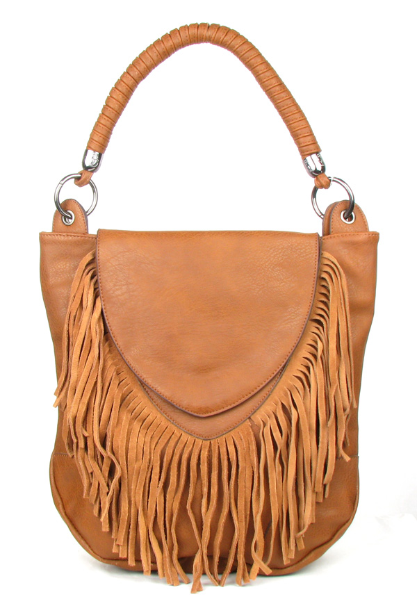 Brown Fringe Tassel Fashion Handag